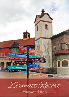 Utah's Zermatt Resort for families | tipsforfamilytrips.com | Heber Valley | summer vacation | winter vacation | Park City | family hotel