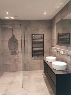 The Best 2019 Interior Design Trends - Interior Design Ideas Bathroom Goals, Attic Bathroom, Upstairs Bathrooms, Family Bathroom, Modern Bathroom, Master Bathroom, Bathroom Vanity Designs, Bathroom Interior Design, Bad Inspiration