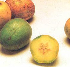 In some islands, it is ccalled June plum, because they ripen once a year in June. In Barbados it is called a golden apple.