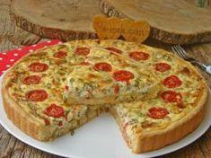 Peynirli Kiş Turkish Kitchen, Dessert Recipes, Desserts, Bread Baking, Gluten Free Recipes, Quiche, Bakery, Food And Drink, Pizza