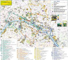 paris top tourist attractions map lopen tour double decker bus tour
