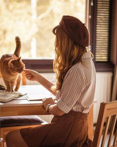 """82479e75f イェリナ 🌿 on Instagram  """"Cats are so precious and loving. Inkivääri  (translates as Ginger) always wants to be involved in everything I do."""