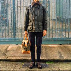 Yu FujiieさんはInstagramを利用しています:「Barbour × J.M.Weston 長いお付き合いのバブアー…