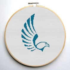 Cross stitch pattern PDF Eagle Instant Download