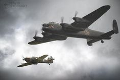 BBMF Avro Lancaster PA474 and BBMF Hawker Hurricane Mk IIC PZ865 in moody skies at Duxford Battle of britain Airshow 2018  Sony A9  Sony G-Master 100-400mm  2.0 Tele converter - iso 320 - F11 - 1/160th - 800mm  Prints and Downloads available from the website    #avrolancaster #hawkerhurricane #duxfordairshow #warbirds #warbird #warplane #battleofbritain #raf  #sonya9 #propblur #planesofinstagram #excellentaviation #ww2 #ww2planes #ww2history #aviationphotos #aircraftphotos #militaryaviation… Hawker Hurricane, Ww2 History, Aircraft Photos, Ww2 Planes, Battle Of Britain, Air Show, Lancaster, Photo S, Wwii