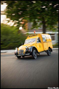 De wegenwacht! Citroën 2cv+
