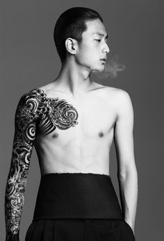 Park Sungjin for Harper's Bazaar Men Thailand Spring / Summer 2014 by Natth Jaturapahu