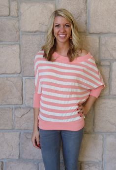Great color, & such an easy simple top!