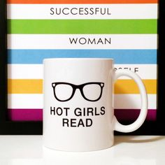 Hey, I found this really awesome Etsy listing at https://www.etsy.com/listing/191182361/may-sale-hot-girls-read-11oz-coffee-mug