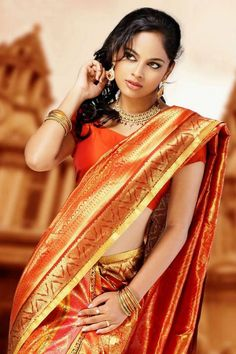 Nandita Swetha is an Indian film actress, who predominantly appears in Tamil Telugu films. Swetha began her acting career in a Kannada film Beauty Full Girl, Cute Beauty, Beauty Women, Indian Photoshoot, Saree Photoshoot, Beautiful Bollywood Actress, Most Beautiful Indian Actress, India Beauty, Asian Beauty