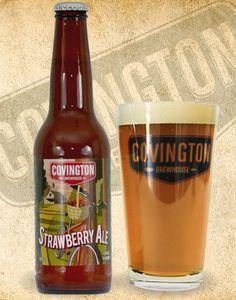 Covington Strawberry Craft Beer Louisiana