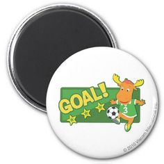 Tyrone - Goal! Regalos, Gifts. #imanes #magnets