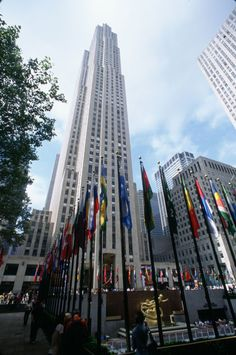 30 Rockefeller Plaza #30rock//I have pictures here from visiting my family. It'll be amazing to share the city with my love.
