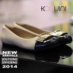 Bom Dia Koquinas! Gosta de sapatilha chic? Que tal essa? Compre Online: http://koqu.in/1fnEKNr #koquini #sapatilhas #euquero by #zenska