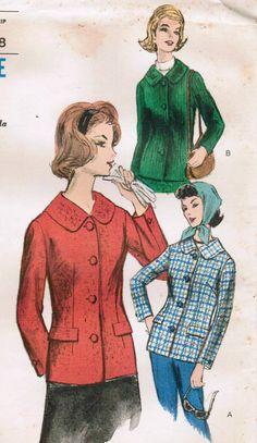 1960s Vogue 5794 UNCUT Vintage Sewing Pattern by midvalecottage, $10.00