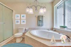 Monica's Design for Roy's Bathroom Decorating Games, Corner Bathtub, Alcove, Bathroom, Design, Bathing