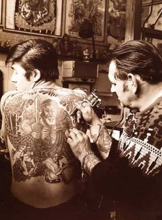 Our collection of vintage tattoos & vintage tattoo art from years past! We feature models and flash inspired by vintage & traditional tattoos as well. Antique Tattoo, Vintage Tattoo Art, Vintage Tattoo Design, Retro Tattoos, Old Tattoos, Body Art Tattoos, Tatoos, Tattoo Old School, England Tattoo