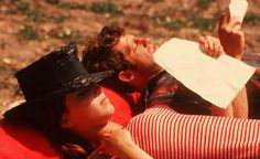 … on the set of Pierrot Le Fou
