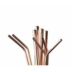 Ditch plastic straws and save the environment with this Rose Gold Steel Straw Set! It includes a bent and straight straw, a cleaning brush and a jute bag.  Price includes a Heat Press on the Bag and Laser Engraving on Both Straws (setup fees apply).  T's & C's Apply.  #environment #straws #steelstraws #rosegold #rosegoldstraws #strawcleaningbrush #jutebag #restaurant #kitchen #laserengraving #gift #corporategift #promotionalgift #brandability Restaurant Kitchen, Jute Bags, Heat Press, Brush Cleaner, Straws, Corporate Gifts, Laser Engraving, Drinkware, Environment