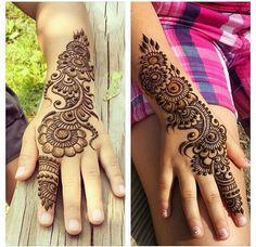 Absolutely beautiful henna...