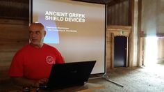 lecture about Greek shield devices Heunburg 2014