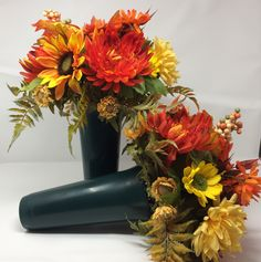 Your place to buy and sell all things handmade Grave Flowers, Cemetery Flowers, Bereavement Flowers, Cemetary Decorations, Sconces, Grave Markers, Wreaths, Fall, Angel