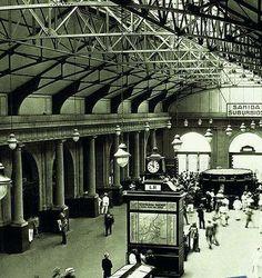 Estação da Leopoldina anos 30 ou 40.✳