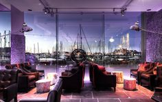 Salthouse Harbour Hotel - At the heart of the resurgent Waterfront district, housed in an imaginatively converted old warehouse, the Salthouse Harbour is Ipswich at its boutique best.