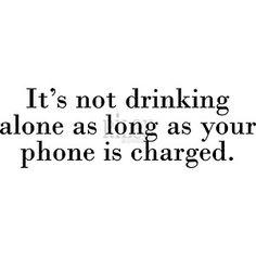-  Drinking Alone