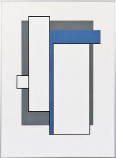 Juhana Blomstedt, 1985, serrigrafia, 60x43 cm, edition 14/75 - Hagelstam A132