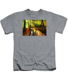 Kids T-Shirt - Abstract Landscape 0747