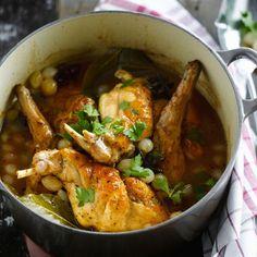 Découvrez la recette lapin en sauce sur cuisineactuelle.fr.