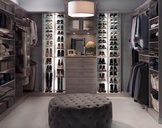 Inspired Closets | Custom Closets and Home Organization Custom Closet Design, Walk In Closet Design, Custom Closets, Closet Designs, Room Closet, Master Closet, Closet Space, No Closet Solutions, Beautiful Closets