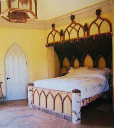 THIS offbeat gothic room from Little Retreats - by Peter Aprahamian (Photographer). It's from a place called The Menagerie. plain rad