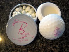 Welcoming Sentiments: Golf Wedding Favors