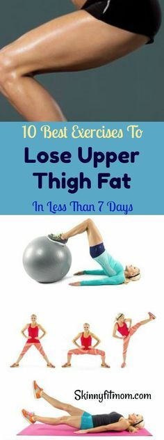 can now bid farewell to thigh fat with these best exercises to get rid of upper thigh fat in 7 days.You can now bid farewell to thigh fat with these best exercises to get rid of upper thigh fat in 7 days. Fitness Tips, Fitness Motivation, Health Fitness, Fitness Foods, Fitness Men, Female Fitness, Fitness Quotes, Lose Weight, Weight Loss
