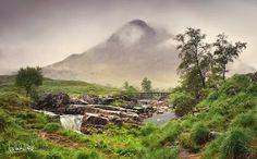 Glen Etive.The story of Deirdre of the Sorrows, a first century Pictish princess who was betrothed to the High King of Ulster before fleeing to Scotland and Etive-side with her lover, Naoise, one of the Three Sons of Uisneach.