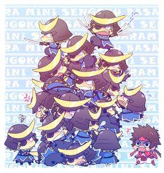 Tags: Anime, Fanart, Sengoku Basara, Date Masamune (Sengoku Basara), Sanada Yukimura (Sengoku Basara)