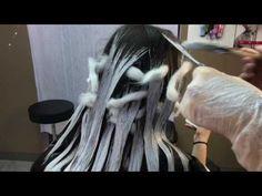 Super Simple Balayage || Hair Tutorial - YouTube