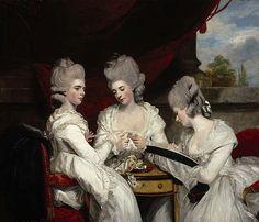 Sir Joshua Reynolds  The Ladies Waldegrave  1780
