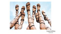 Love #Valentino's shoes 2015