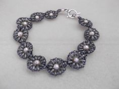 bracelet 'Daisy chain' by meebo1 on Etsy