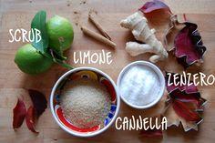 #Scrub limone zenzero cannella per combattere i disagi dell'#autunno! Ricetta di Ommiobio su EcquoBlog