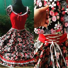 Floral, Womens Fashion, Skirts, Outfits, Dresses, Folklorico Dresses, Traditional Dresses, Briefs, Slippers