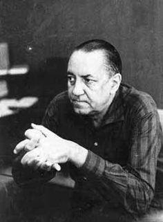 Alejo Carpentier - Cuban novelist & essayist.