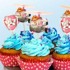 PAW Patrol Skye Birthday Party Cupcakes