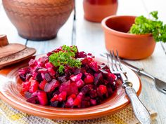 Those who find beets a bit too earthy will appreciate the tangy dressing that gives them a distinctive zing in this simple yet sophisticated presentation.