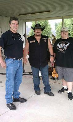 Steve Jones, John Curran and Billy Gillenwater of Renegade