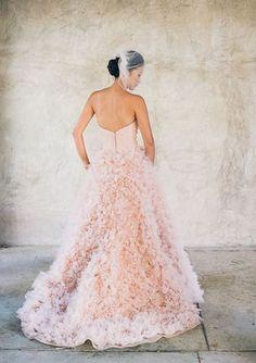 wedding dress #pink