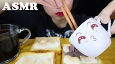VLOG ASMR SATISFYING CRUNCH SOUNDS *Toasted Marshmallow Coated Toast* 솜사... Toasted Marshmallow, Asmr, Give It To Me, Make It Yourself, Tableware, Desserts, Food, Tailgate Desserts, Autonomous Sensory Meridian Response